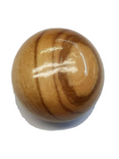 TAN WITH BROWN SWIRL LADIES  BUTTON #403