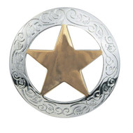 "1-1/2"" #1805 Texas Star Concho"