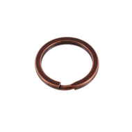 Key Ring 26mm Antique Copper Solid Iron