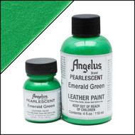 Angelus 1 oz. Pearlescent Paint Emerald Green