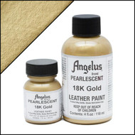 Angelus 1 oz. Pearlescent Paint 18K Gold
