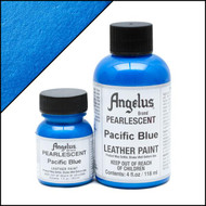 Angelus 1 oz. Pearlescent Paint Pacific Blue