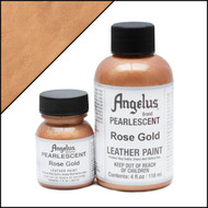 Angelus 1 oz. Pearlescent Paint Rose Gold