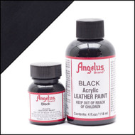 Angelus 1 oz. Acrylic Paint Black