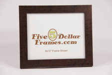 52G 1.25 expresso walnut compo picture frame