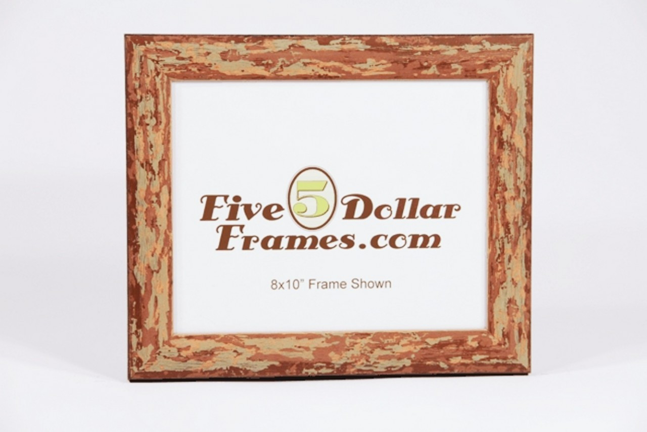 italian made rustic distressed picture frame discount picture frames. Black Bedroom Furniture Sets. Home Design Ideas