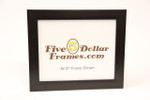 Modern Expresso Finish Flat Picture Frame