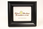 94273 2.5 Large Rounded Black Picture Frame