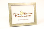 "52000 1"" Flat Silver Leaf Canvas Picture Frame"
