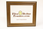 "1549-349 1.5"" Walnut Reverse Step Picture Frame"
