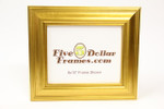 "60-900 2.5"" Gold Slope Picture Frame"
