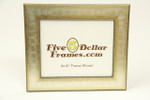 "2588 2"" Gold and Silver Rubbed Picture Frame"