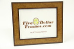 "224-51 1.75"" Flat Wood Burl w/Black Back Picture Frame"