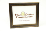 """10236 1.25"""" Bronze Contemporary Slope Picture Frame"""