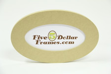 510 OVL 5x10 Oval Composite Picture Frame