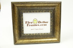 """80295 3.25"""" Traditional Gold Leaf Scoop w/Detail Picture Frame"""