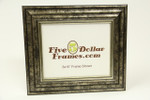 "559-43 2.75"" Transitional Black and Silver Picture Frame"