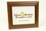 "373-128 2"" Pecan Slope Picture Frame"