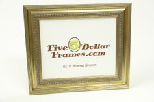 "181-23 2"" Dutch Ripple Silver Leaf Picture Frame"