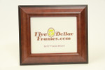 "MX56204 2.5"" Satin Mahogany Step Picture Frame"