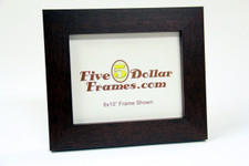 "476220 2.0"" Smooth Mahogany Modern Picture Frame"