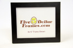 "12569 1.25"" Smooth Small Expresso Flat Picture Frame"
