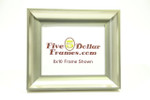 "273-23  2"" Tall Silver Scoop Picture Frame"
