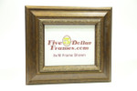 "7158 3.5"" Gold Ornate Decorative Leaf Picture Frame"