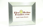"7430 2"" Brushed Bright Silver Polystyrene Picture Frame"