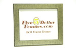 "9881 1.25"" Aged Silver Scratched and Distressed Picture Frame"