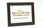 "9792 1.25"" Dark Mahogany Natural Wood Picture Frame"