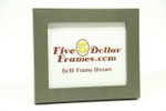 "141-13 1.5"" Medium Gray Block Picture Frame"