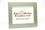 "141-93 1.5"" Silver Florentine Block Picture Frame"