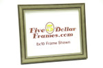 "10676 1"" Warm Silver Brushed Picture Frame"