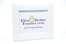"""252-22 2"""" Satin White Flat Face Picture Frame"""