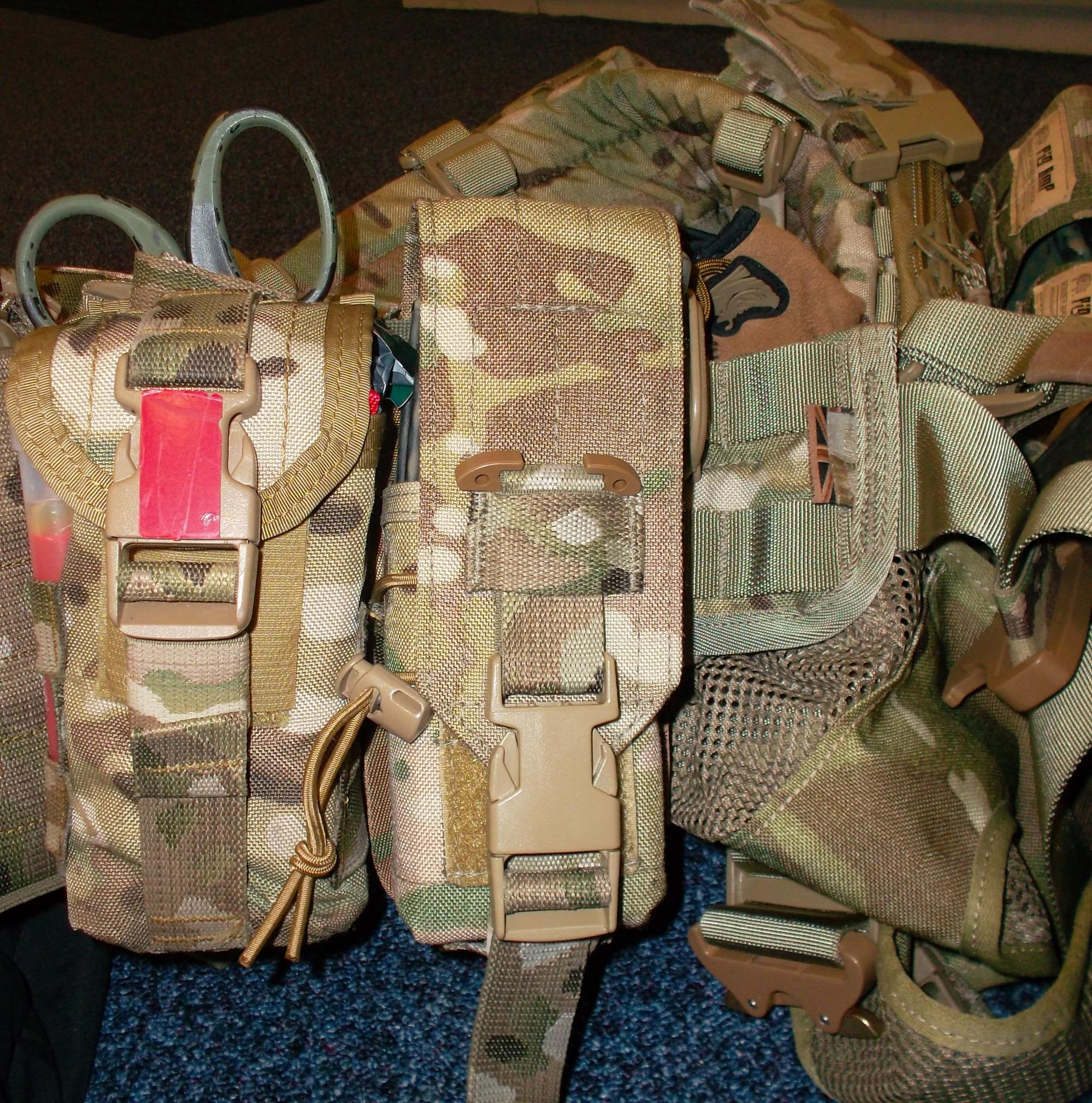 Ammo with Buckle Silence Kit