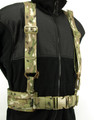 Webbing Hippo Belt 2 Molle Rows in Full Multicam