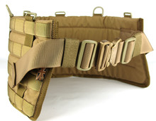 Coyote Brown Material Used