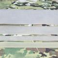 25mm/1inch Sew on Hook Tape Covert Green/Light Olive