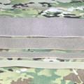 100mm Sew on Loop Tape Covert Green/Light Olive