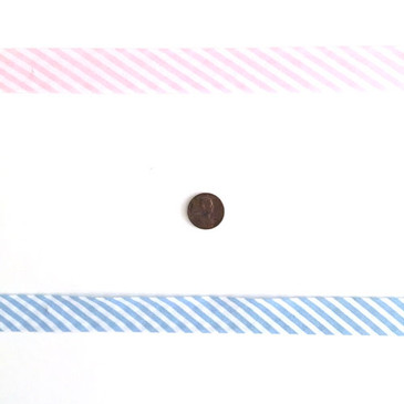 Stripey Bias - Single Fold 2 cm Bias Binding Tape
