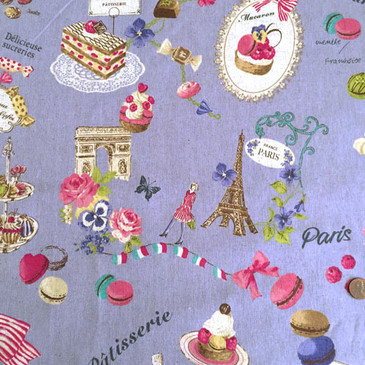 Yuwa - Sucreries de Paris (Cotton/Linen)