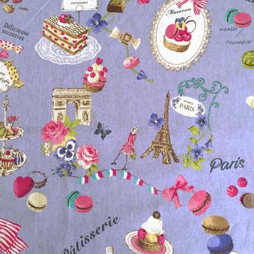 Yuwa - Sucreries de Paris (Cotton/Linen)