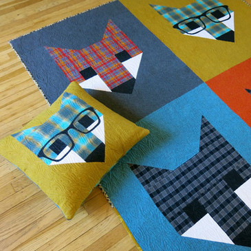 Elizabeth Hartman - Fancy Fox II Quilt