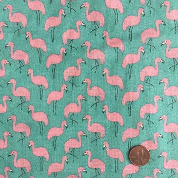 Hokkoh Flamingo Heavyweight Gauze - Turquoise