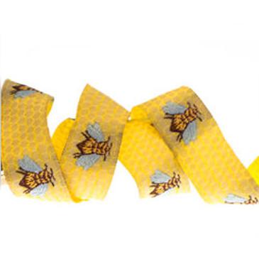 "Sweet Honeybee on Honeycomb - 5/8"""