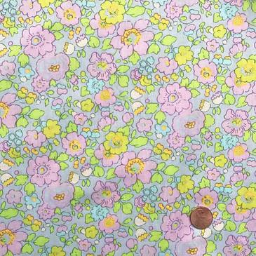 Liberty Betsy U (pink / yellow / pale blue)
