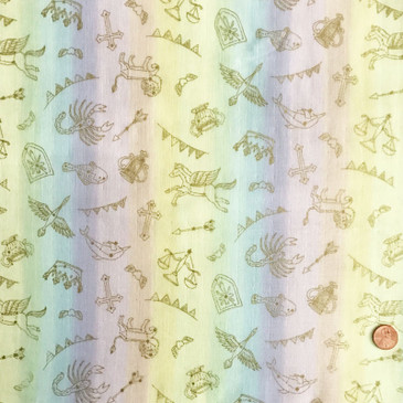 Kokka - Candy Store Constellations (double gauze)