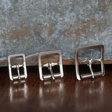 """Merchant & Mills - Nickel Roller Buckle (1/2"""", 3/4"""" or 1"""")"""
