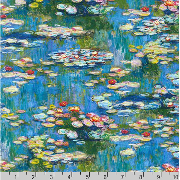 Description On Claude Monet S Water Lily Pond Paintings